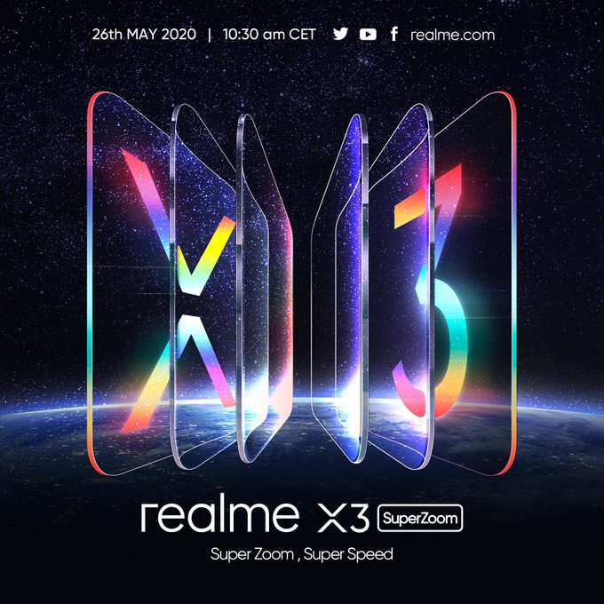 Realme X3 SuperZoom will be out in Europe on May 26