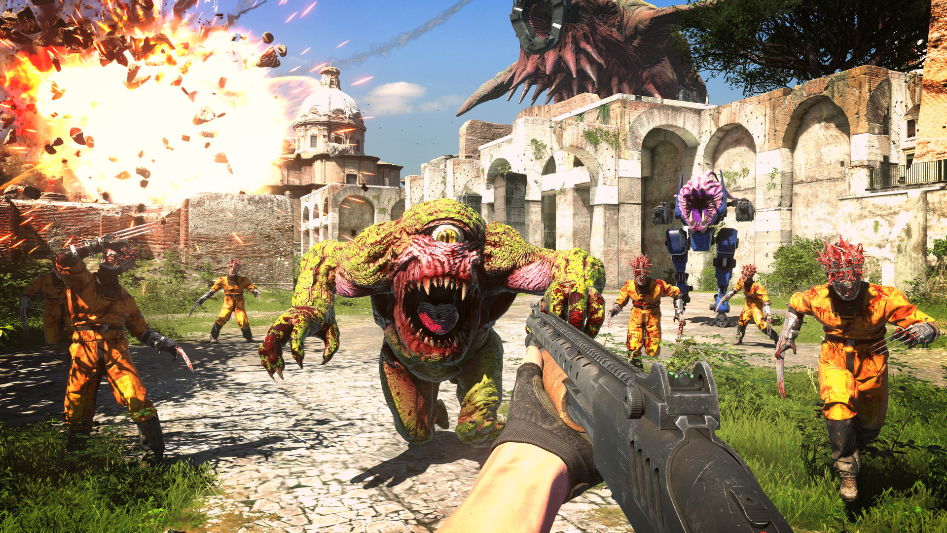 "Croteam announces Serious Sam 4's release date, ""for real this time"""