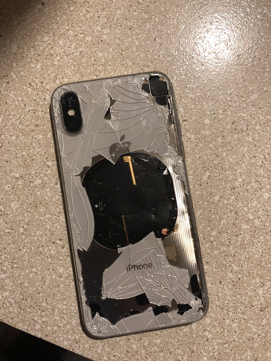 This time it was an iPhone that exploded!