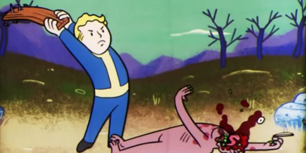 He tried to get his copy of Fallout 76 refunded. The store did not take it, so he demolished it