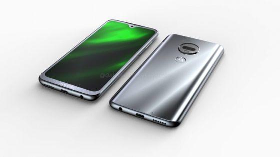 Render and specs of Motorola Moto G7 Plus