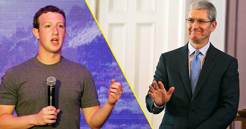 Zuckerberg got offended by Apple and now Facebook employees cannot use their phones