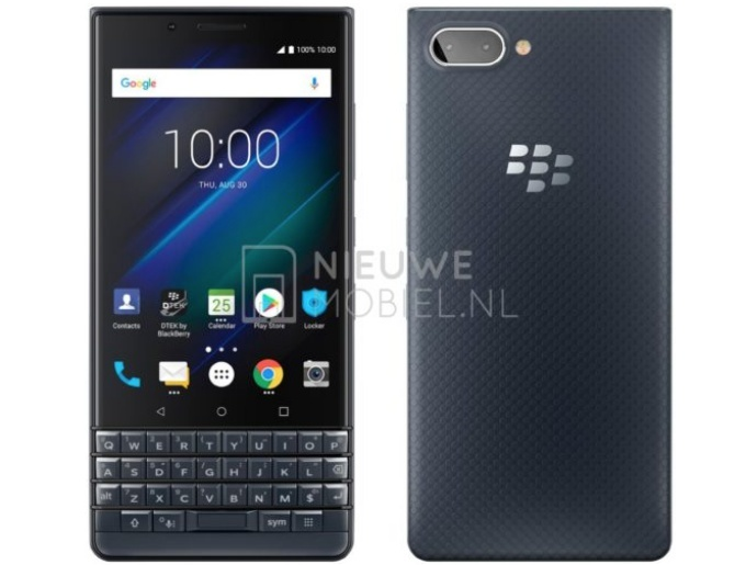 Fresh new render of BlackBerry KEY2 LE