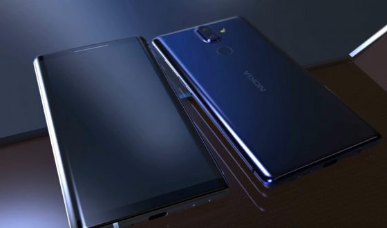 New concept graphic of Nokia 9