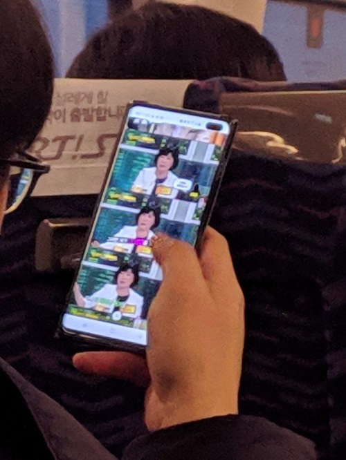 Photo of Samsung Galaxy S10 Plus leaked