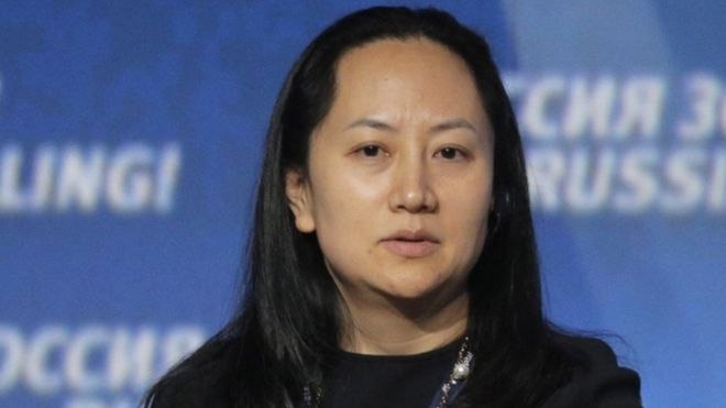 Meng Wanzhou, vice-president of Huawei, is under arrest