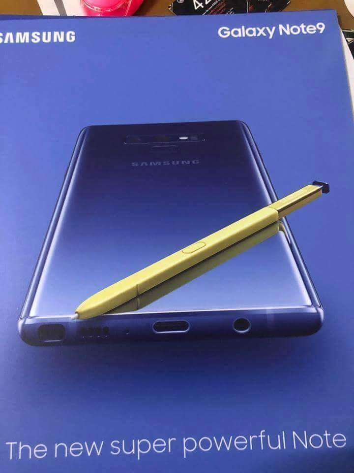 Galaxy Note 9 wallpaper leaks