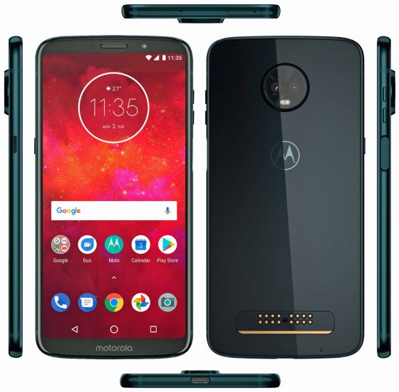 Moto Z3 Play specs & mods available leak out