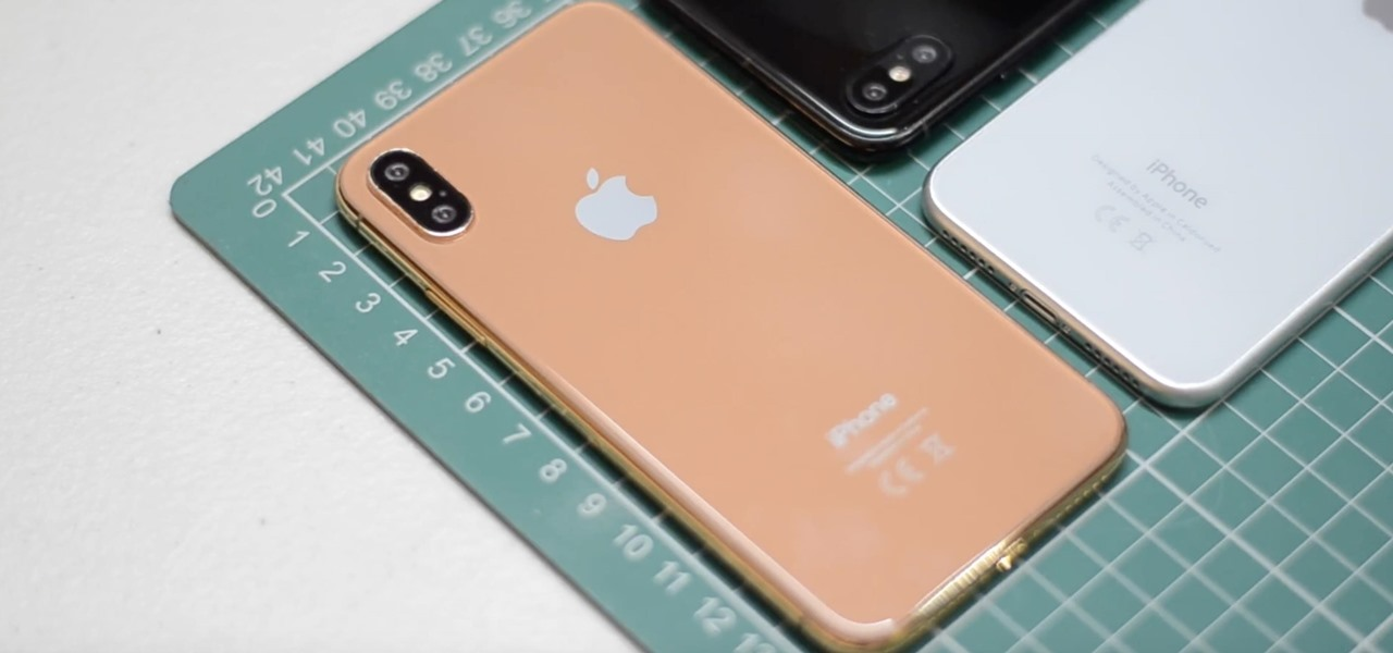 New, shiny iPhone X colour incoming
