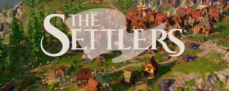 The Settlers! 15-minutes long gameplay from the game's early version