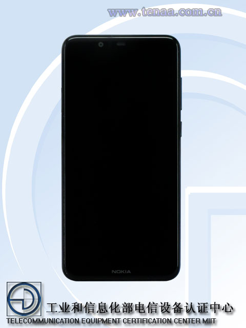 Picture and specs of Nokia 5.1 Plus