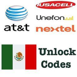Desbloquear Huawei por el código IMEI de la red AT&T (Iusacell, Nextel, Unefon) au Mexique
