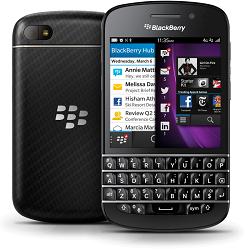 Codes de déverrouillage, débloquer Blackberry Q10