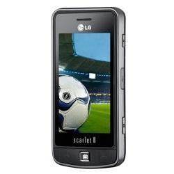 Déverrouiller par code votre mobile LG Scarlet II TV