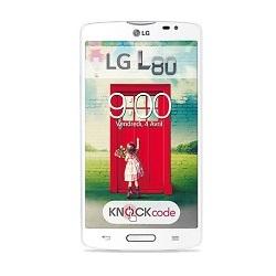 Déverrouiller par code votre mobile LG L80 Dual