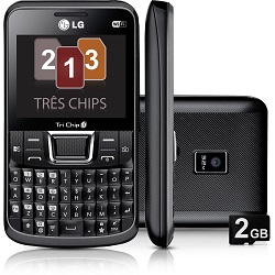 Déverrouiller par code votre mobile LG Tri Chip C333