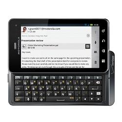 Déverrouiller par code votre mobile Motorola Droid 3