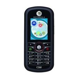 Déverrouiller par code votre mobile Motorola C261