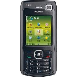 Déverrouiller par code votre mobile Nokia N70 Music Edition