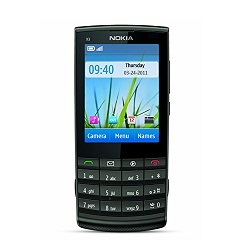 Déverrouiller par code votre mobile Nokia X3 Touch and Type