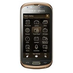 Déverrouiller par code votre mobile Samsung B7620 Giorgio Armani