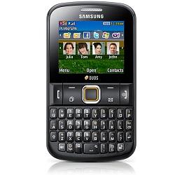 Déverrouiller par code votre mobile Samsung E2222 Chat 222