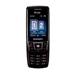 Déverrouiller par code votre mobile Samsung D880