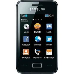 Déverrouiller par code votre mobile Samsung GT-S5220